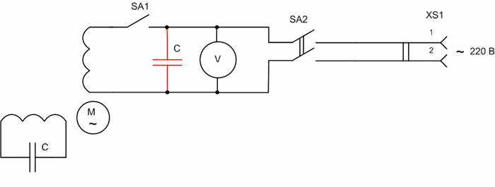 как сделать генератор асинхронного двигателя - Всемирная схемотехника.